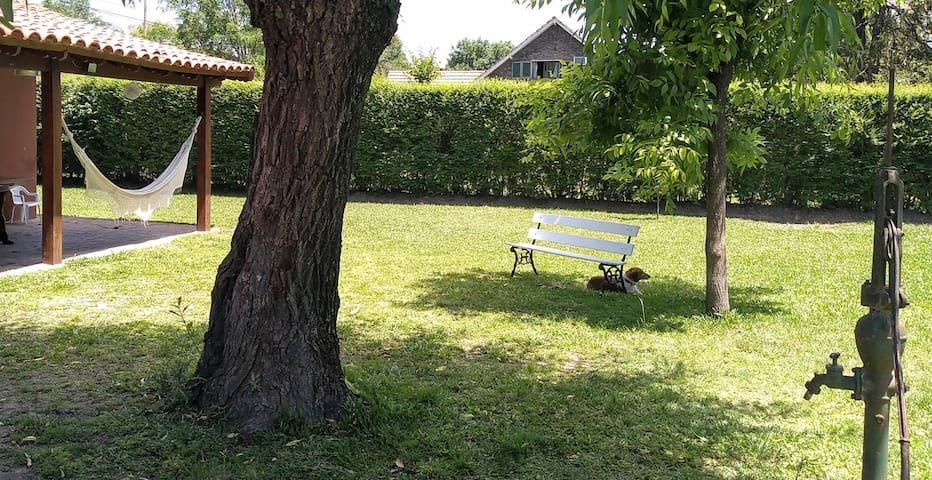 Suite independiente con vista al parque