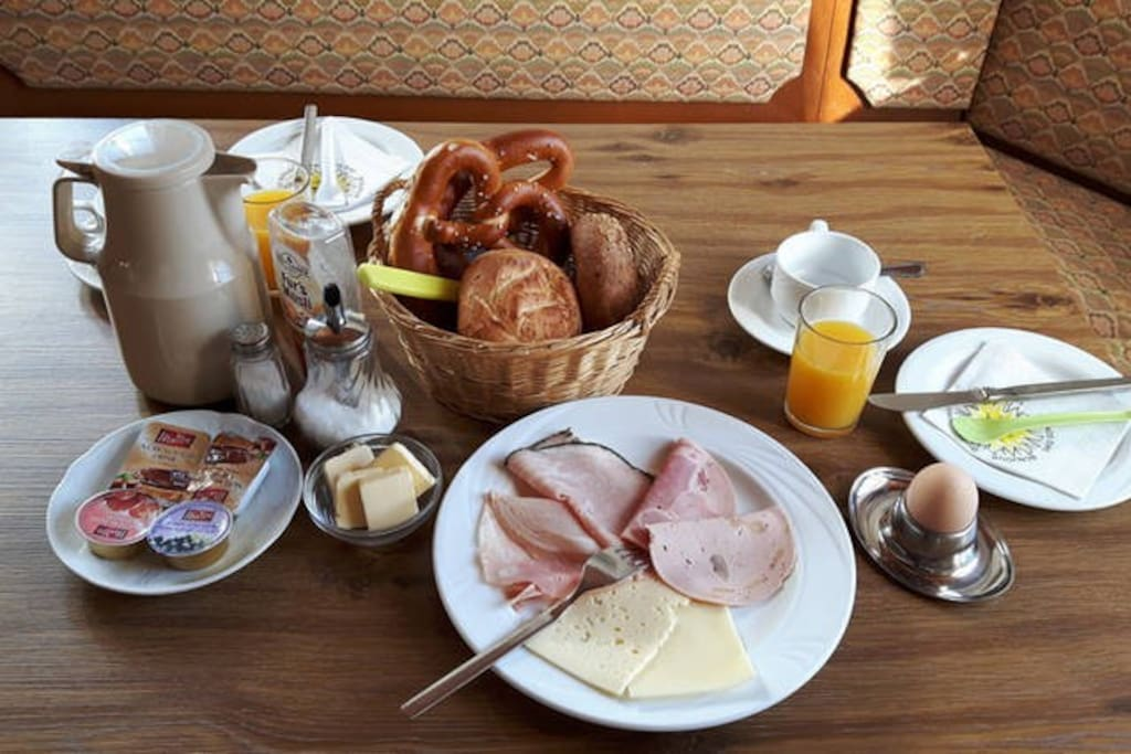 continental breakfast included in your rate