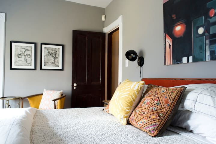 Peaceful and Refined Guest Suite - South Orange - Rumah