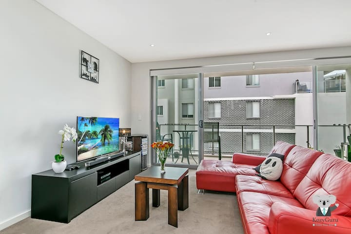 Modern Cozy 2Bed Campbelltown City Centre NCA012