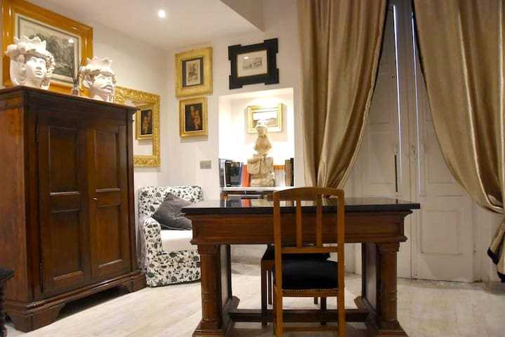 Studio in Pisticci, with furnished balcony and WiFi - 15 km from the beach