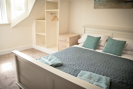 King double room in newly refurbished B and B