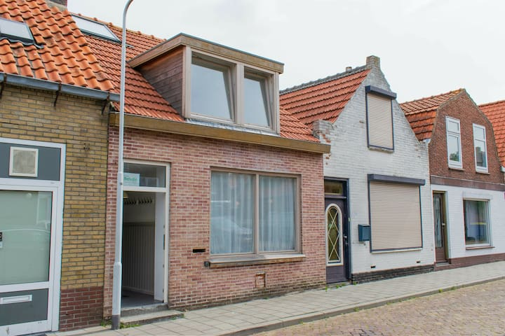 Pleasant holiday home at 300 metres from the beach and the centre of Breskens.