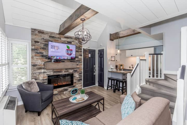 Lofted Rustic Condo