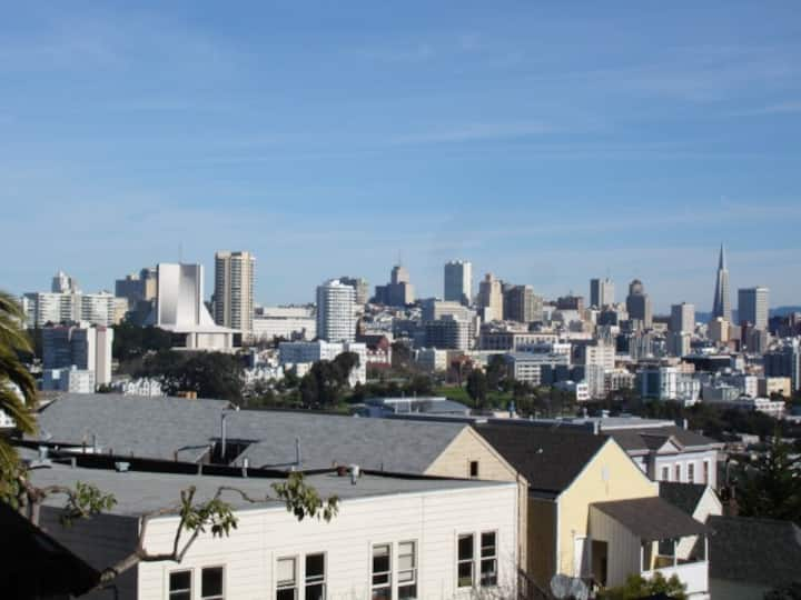 Views of SF from a nice studio F5