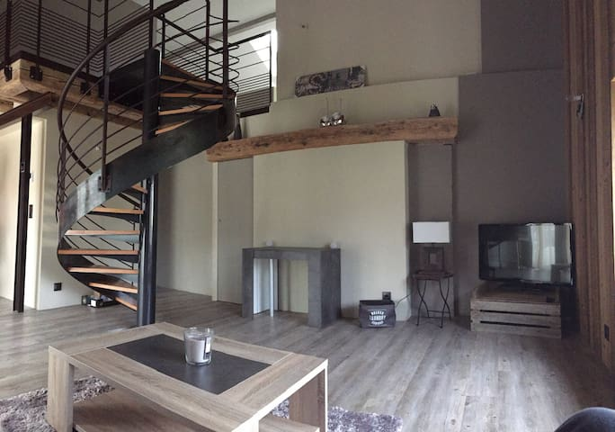 Bel appartement vu lac et montagne 15 mn d annecy - Cuvat - Pis