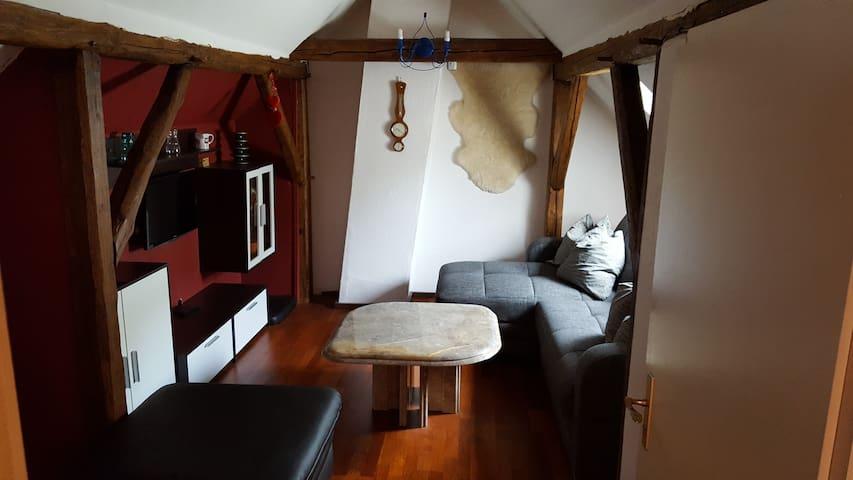Zimmer in Hildesheim Flugplatz für bis 3  Personen - Hildesheim - Apartamento