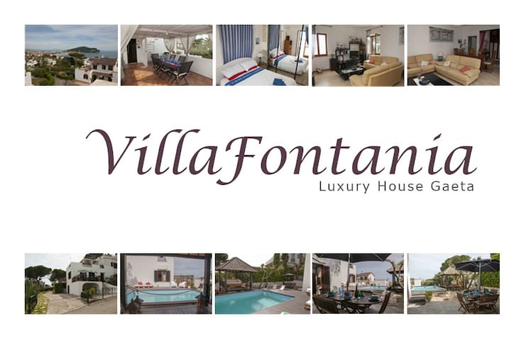 villa with private swimming pool  - Gaeta - Villa