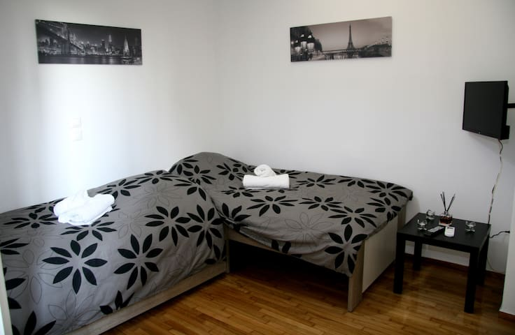 A cozy apartment.