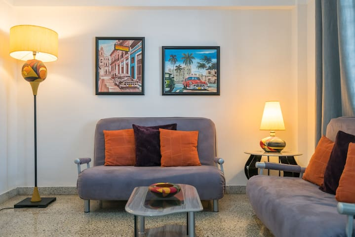 Apartamento en el corazón del Vedado, La Habana