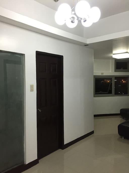 Hallway and the door of bedroom