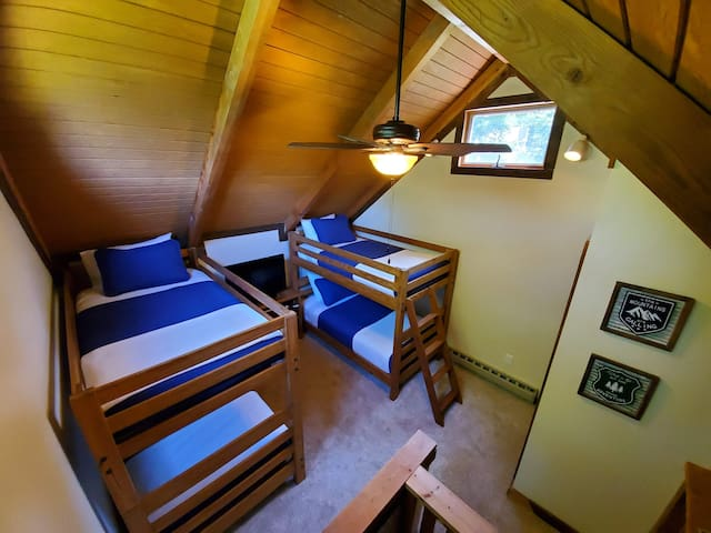 Loft with Two Twin Bunks