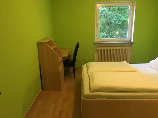 writing desk in first bedroom