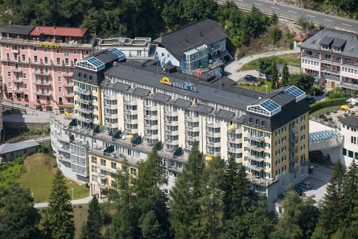 Luxusappartement im First-Class Hotel Bellevue