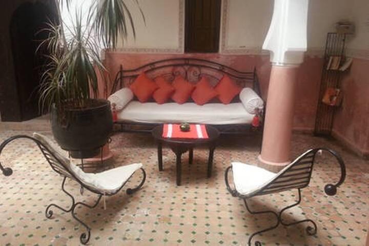 Best kept secret of Marrakech Médina Riad Bousskri