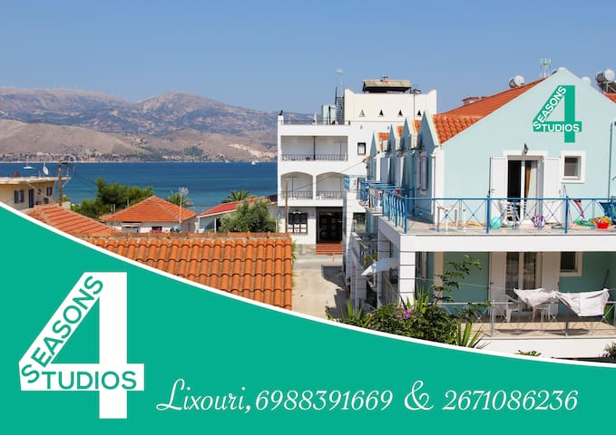 4 Seasons Studios (1st floor - room 2) - Lixouri - Apartament