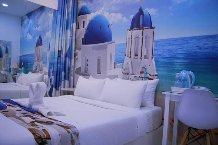 Santorini Hotel Melaka,Jonker Street,Standard R8