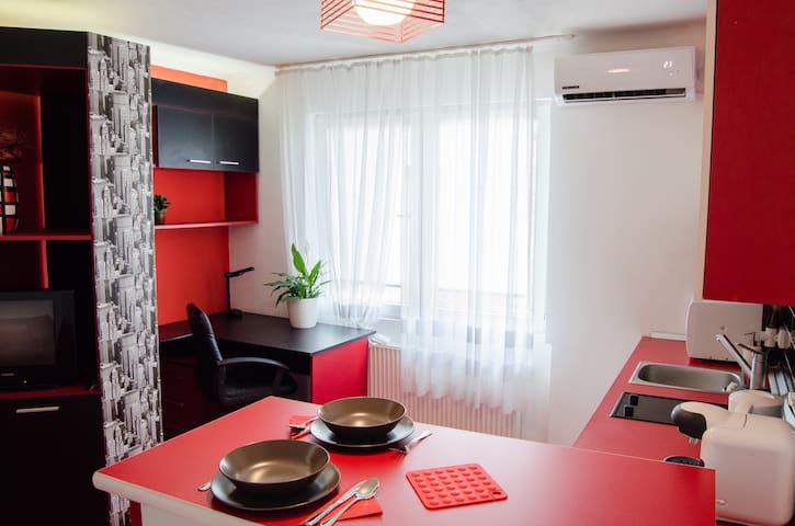 Cozy, Red Apartment near City Center - Timișoara - Appartement