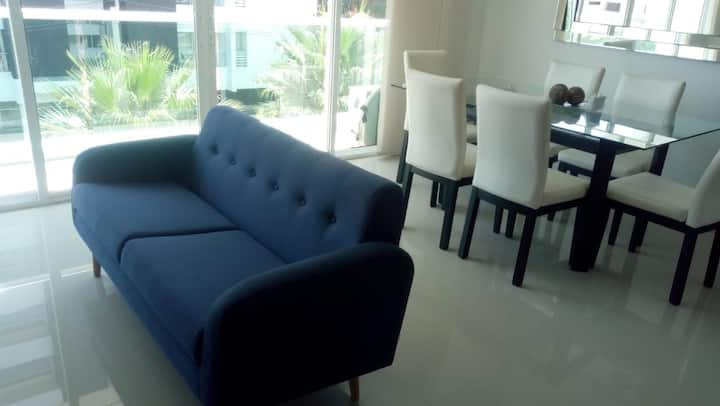 Apartamento entero, amplio con excelente ubicación