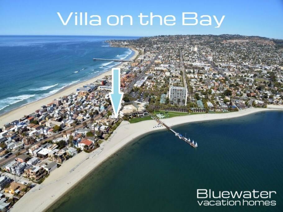 Prime Waterfront San Diego Resort Rental