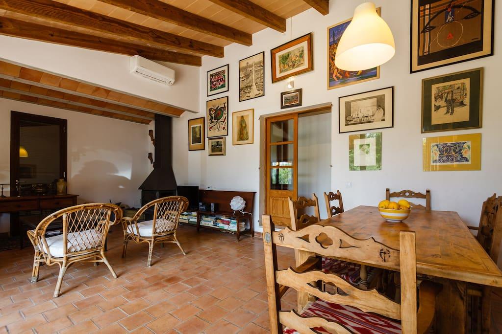 Bonita casa de campo en buger casas en alquiler en b ger - Hoteles casa de campo madrid ...