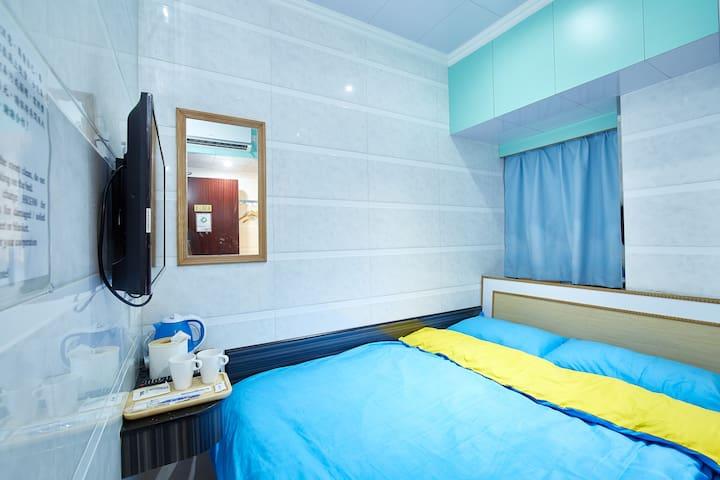 Mong Kok旺角西洋菜南街舒適2人房5105