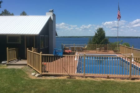 Charming waterfront cottage - Clayton - Hus