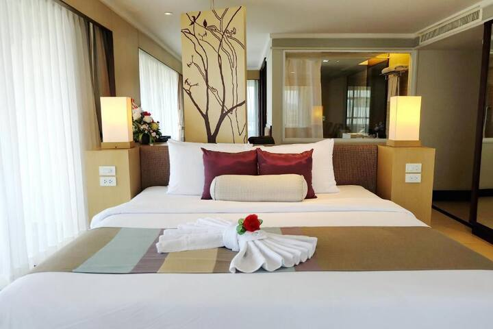 Stylish Corner Deluxe room in Trang
