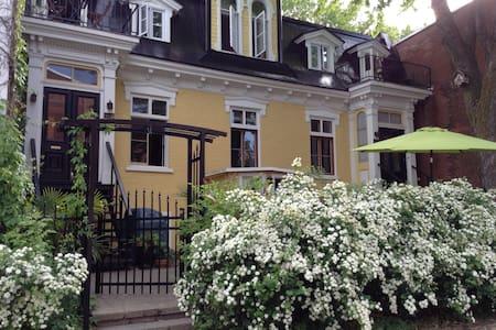 Charming vintage apartment on the Plateau - Montreal - Apartament