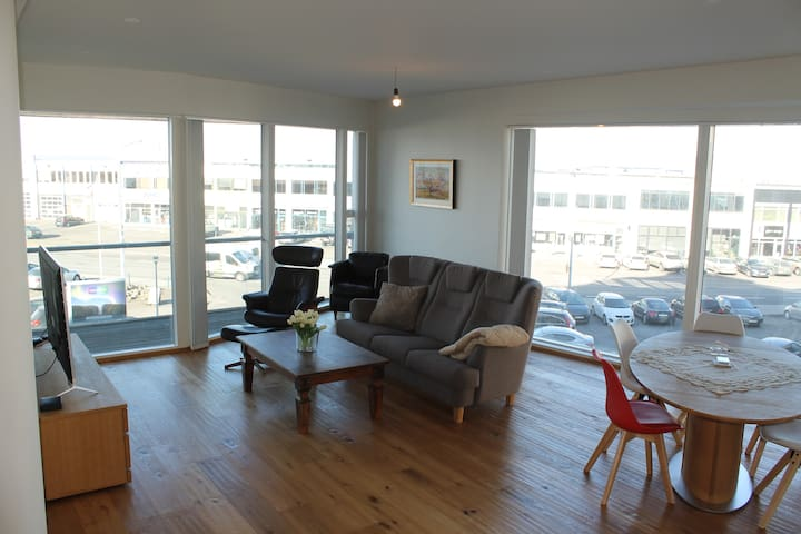 Spacious Harbour Apartment In Downtown Reykjavik