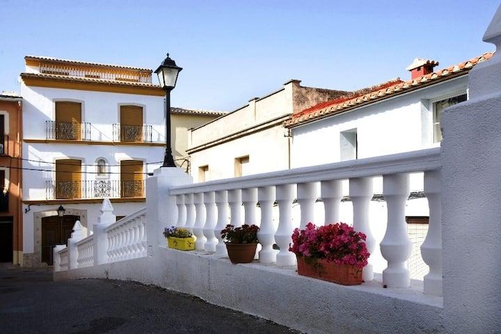 Casa Calazul en el centro de Orba