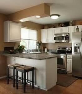 casa confortable para familia con hijos o parejas