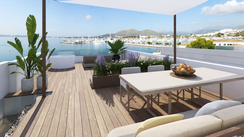 Brand New Luxury Property Sea Views Roof Terrace