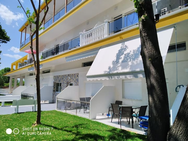 Girni Grand apartmani Olimpic Beach, Greece
