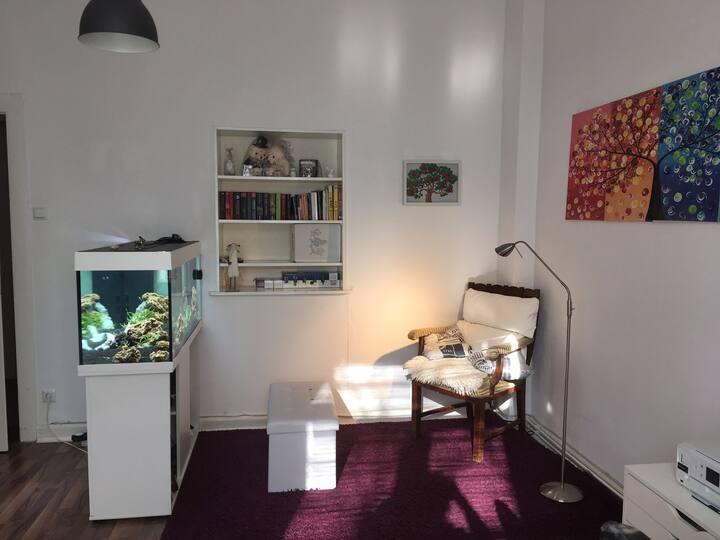 Gemütliches und helles 18 qm-Zimmer