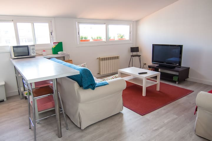Cheerful, Simple and Comfortable - San Sebastián - Leilighet