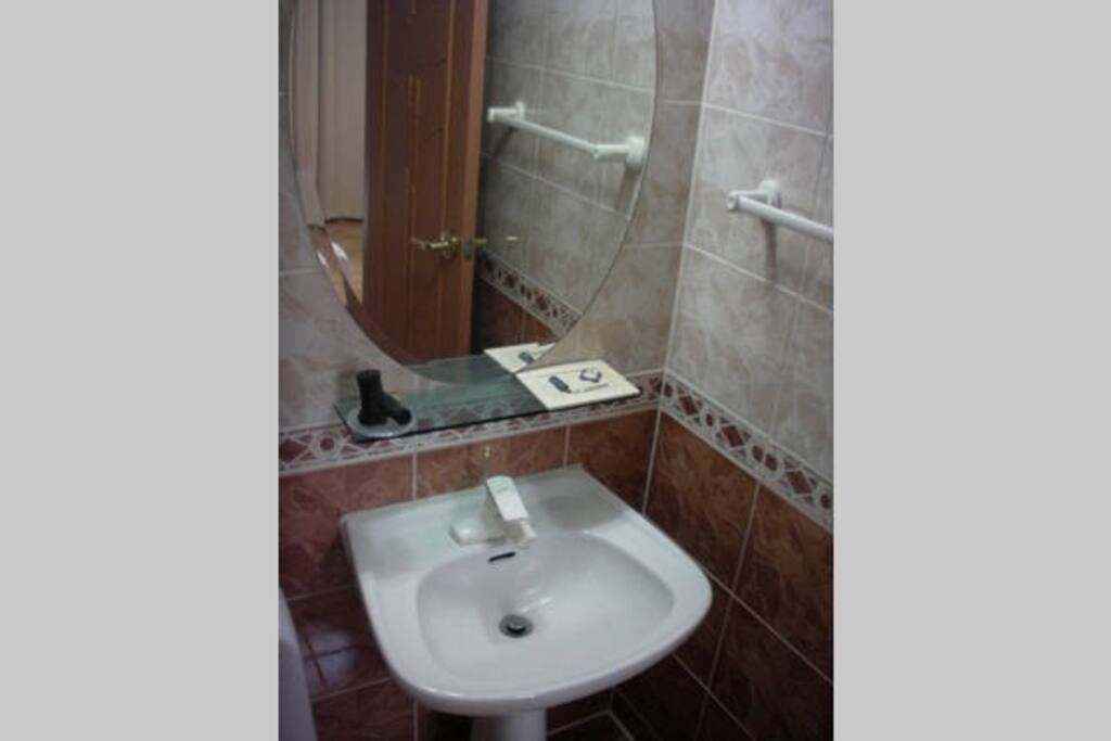 Private room with toilet and shower