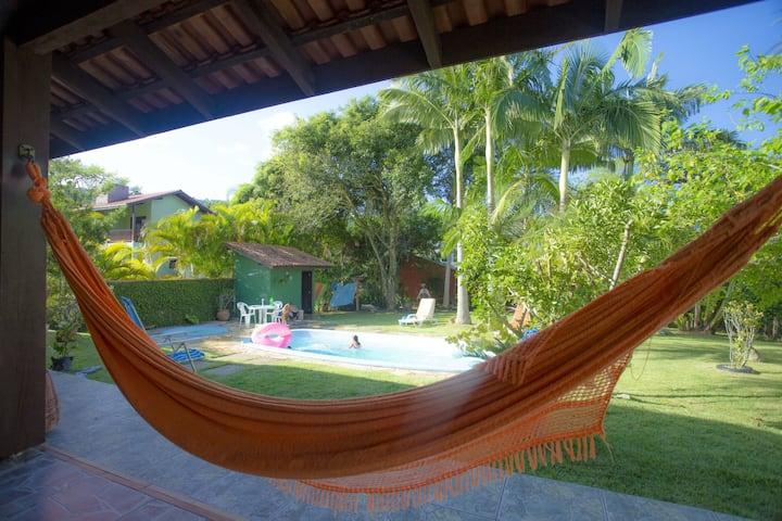 Casa de Praia com Piscina em Santa Catarina