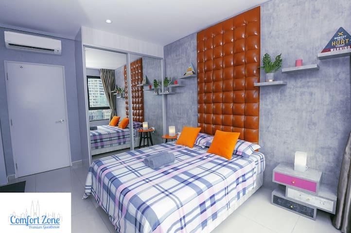 Comfort Zone Premium Guesthouse @ i-City