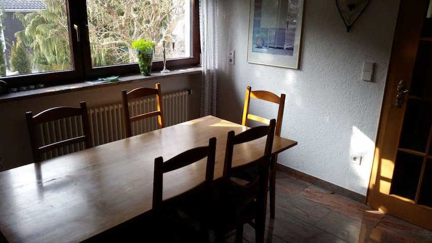 Gemütliches Zimmer in Einfamililienhaus mit Garten - Reichenau