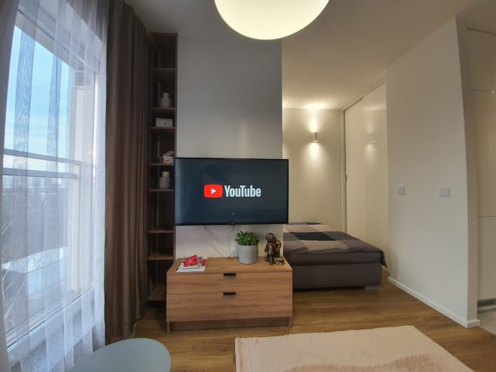 Uroczy Apartament Soft Loft Przedmiejski