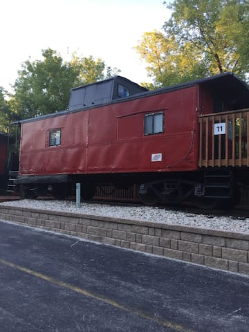 Nostalgic End of the Line Caboose