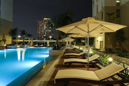 Free Airport Ride: New Upscale Condo in Expat Area - Ho-Chi-Minh-Stadt - Wohnung