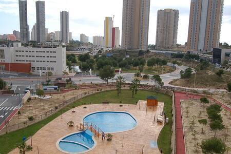 Exclusivo apartamento en playa Poniente - Benidorm