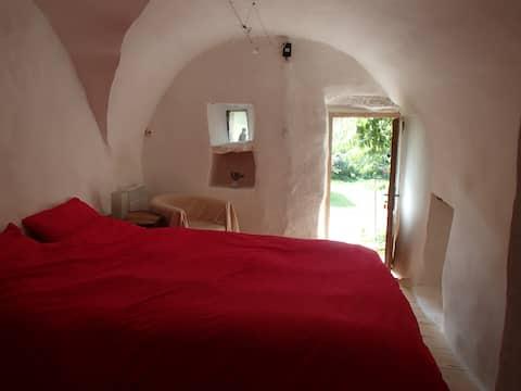 Chambre voûtée calme et loft d'été proche du lac
