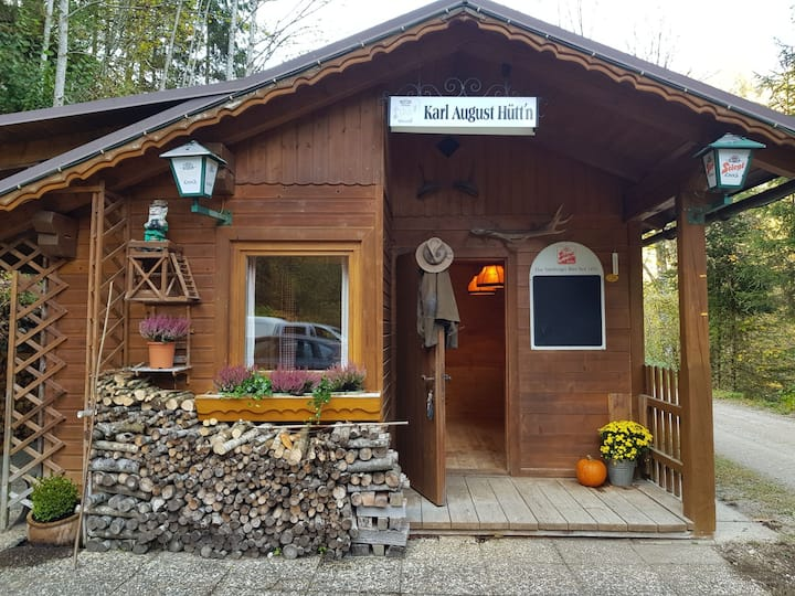 Hütte im Nationalpark Gesäuse