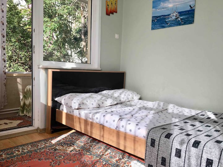 Private room for male,  walking distance to metro