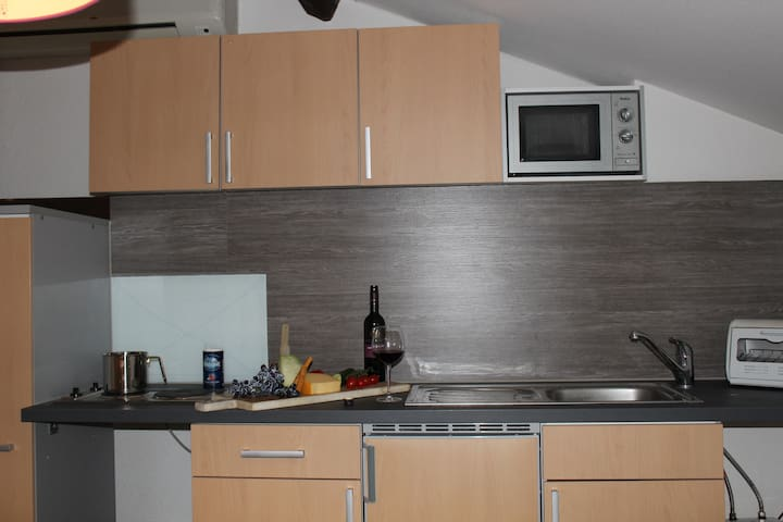 Kleine Küche, für kleine Leckereien