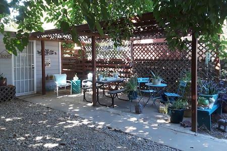 The  Garden Studio   (private) self checking & out