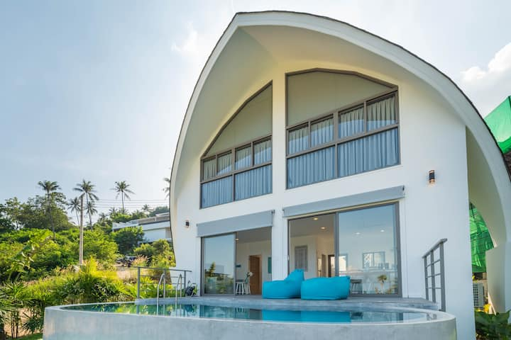 Villa Jade 2BR - Private Pool & SeaView